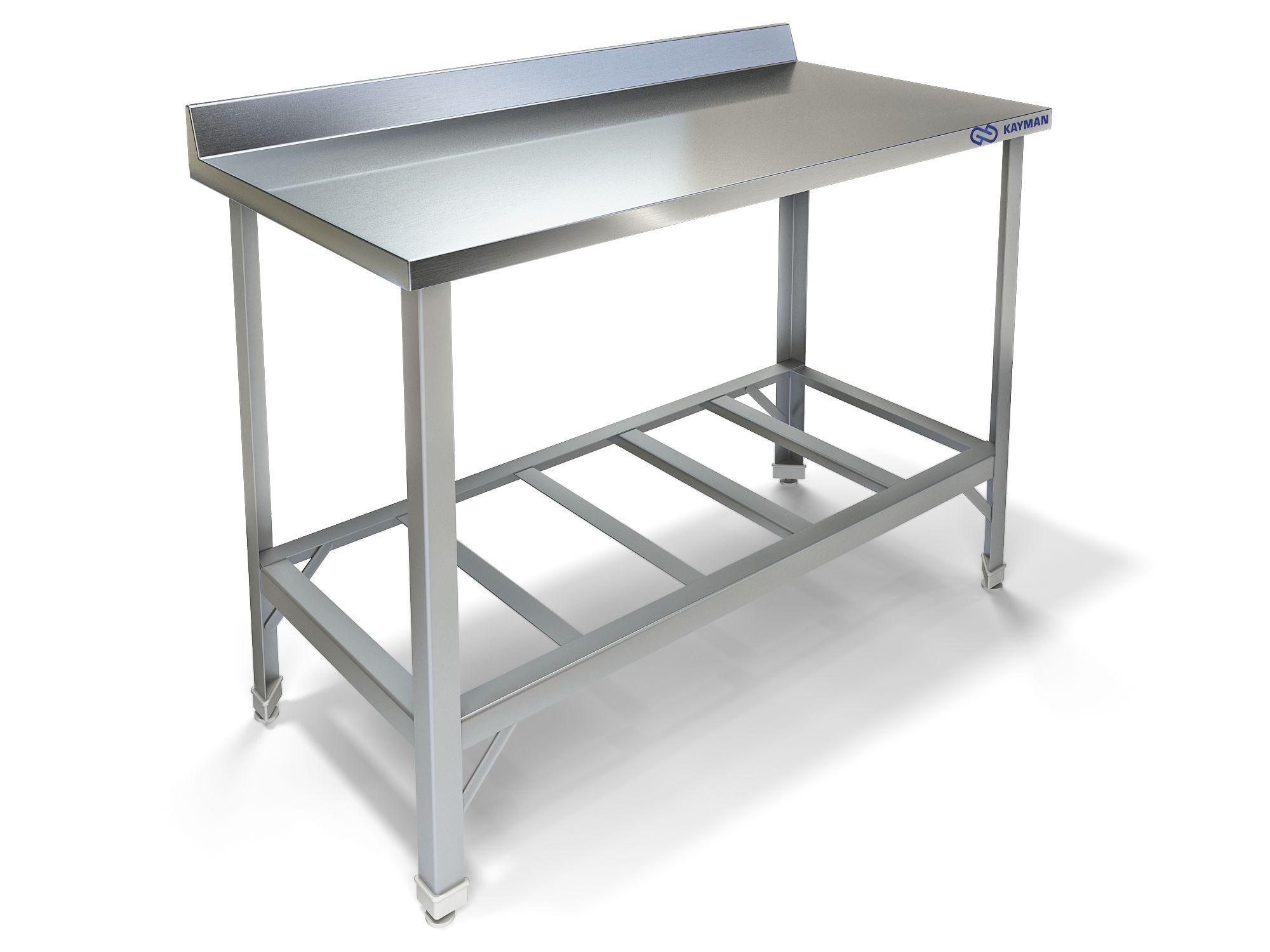 Кухонные металлический стол 2 фотография